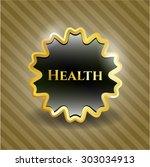health shiny emblem | Shutterstock .eps vector #303034913