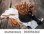 Cinnamon Sticks In A Stone...