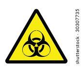 biohazard hazard sign | Shutterstock . vector #30307735