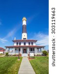 Absecon Lighthouse In Atlantic...