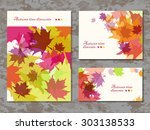 abstract composition  autumn... | Shutterstock .eps vector #303138533