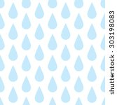 the pattern of blue drops of...   Shutterstock .eps vector #303198083