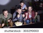 the first goal belongs to us | Shutterstock . vector #303290003
