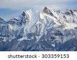 Winter In The Swiss Alps ...