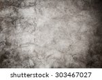 rough textured concrete wall... | Shutterstock . vector #303467027