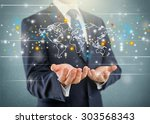 global business.   Shutterstock . vector #303568343