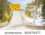 Runaway Truck Ramp Road Sign