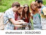 technology  travel  tourism ... | Shutterstock . vector #303620483