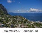 island village | Shutterstock . vector #303632843