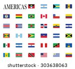 flags of america vector... | Shutterstock .eps vector #303638063