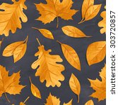 seamless floral pattern on... | Shutterstock . vector #303720857