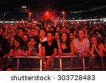 cluj napoca  romania   july 30  ... | Shutterstock . vector #303728483