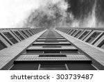 abstract image of building... | Shutterstock . vector #303739487