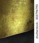grunge gold background with