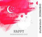 vector background for singapore ...   Shutterstock .eps vector #303860843