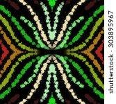 dark blots spots grainy texture ... | Shutterstock . vector #303895967
