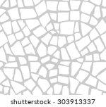 seamless mosaic pattern | Shutterstock .eps vector #303913337
