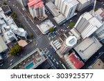 Modern City Crossroad From Bir...