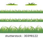 grass | Shutterstock .eps vector #30398122