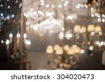 Blur Image Of Chandelier