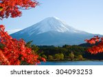 Mt.fuji In Autumn At Lake...