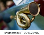 Vintage Car Detail   Air Horn