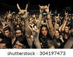 cluj napoca  romania   august 2 ... | Shutterstock . vector #304197473