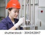 Engineer Setup Testing Machine