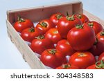 Box With Fresh Tomatoes