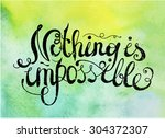vector quote  phrase on... | Shutterstock .eps vector #304372307