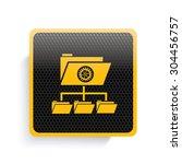 folder file share icon design...