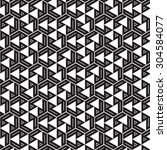 black graphic pattern abstract... | Shutterstock .eps vector #304584077