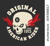 motor logo graphic design. logo ... | Shutterstock .eps vector #304588817
