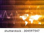 modern medical science... | Shutterstock . vector #304597547