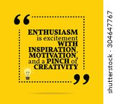inspirational motivational... | Shutterstock .eps vector #304647767