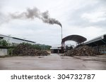 Industrial Plant  Factory With...