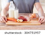 sport  fitness  healthy... | Shutterstock . vector #304751957