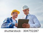 business  building  teamwork ... | Shutterstock . vector #304752287