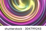 abstract background gold swirl | Shutterstock . vector #304799243