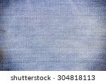 the blue jean is background | Shutterstock . vector #304818113