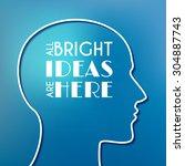conceptual poster. all bright... | Shutterstock . vector #304887743