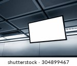 blank lcd screen display mock...