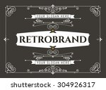 set luxury logos template