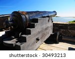 An Old Spanish Style Cannon...