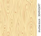 vector seamless beige wooden... | Shutterstock .eps vector #304942697