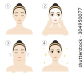 Icon Set For Skincare...