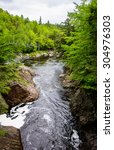 Small photo of High Falls Gorge, Adirondack Mountains