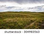 sandhills of nebraska  | Shutterstock . vector #304983563
