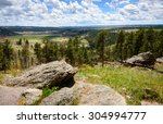 devils tower | Shutterstock . vector #304994777