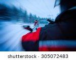 Horizontal Vivid Snowmobile...